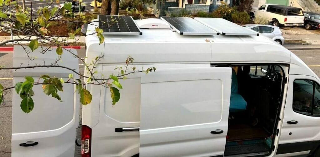 solar panels for a van roof