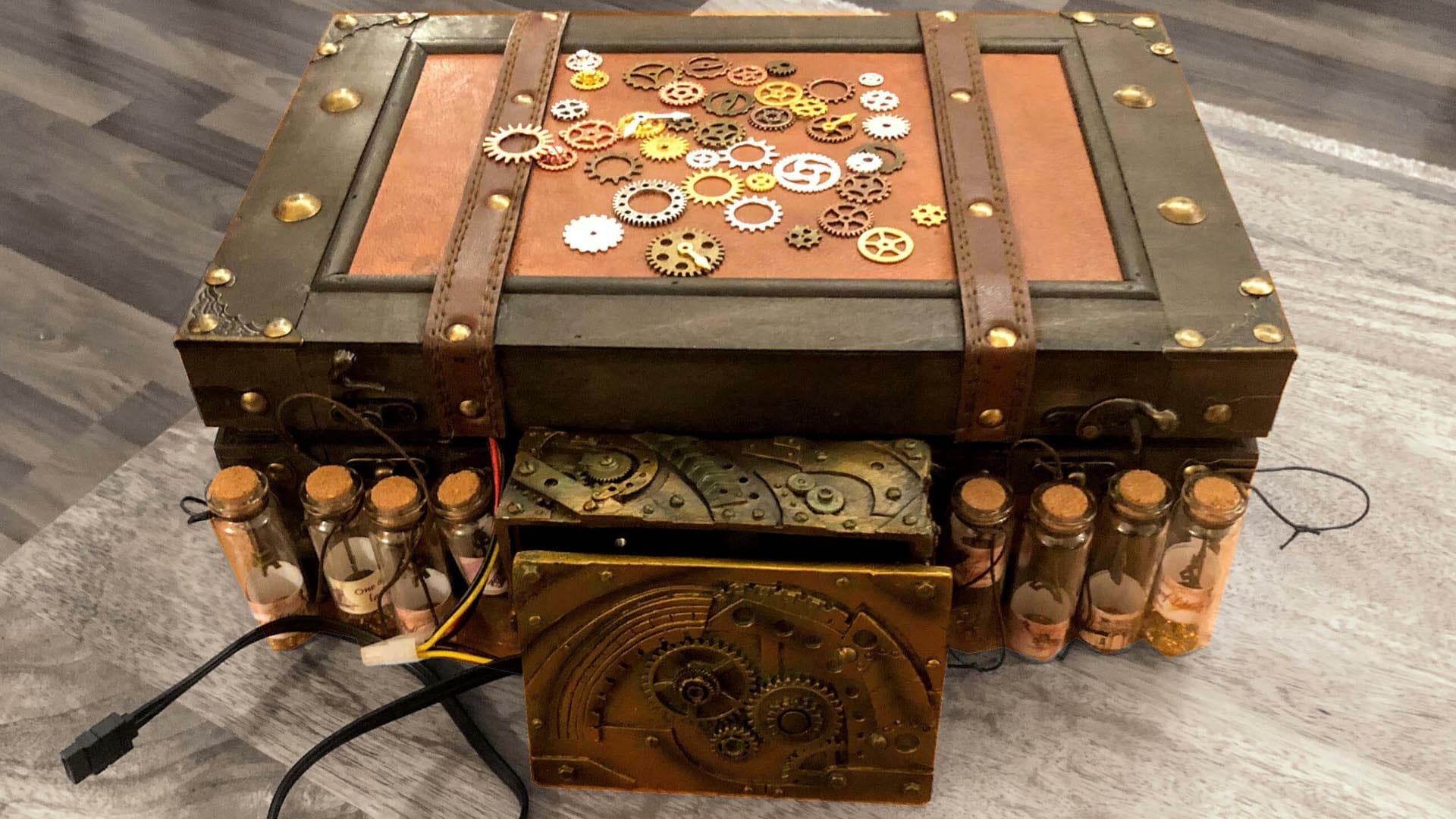 DC steampunk computer