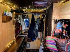 Building A Wood Cabin Steampunk Van