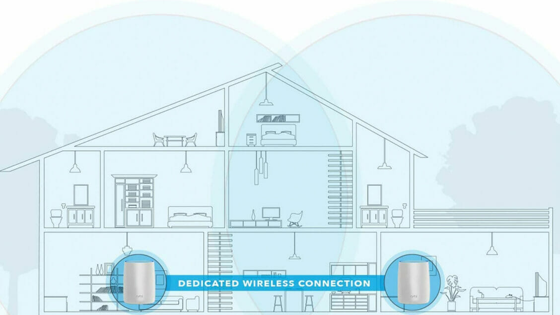 home network setup with a netgear orbi