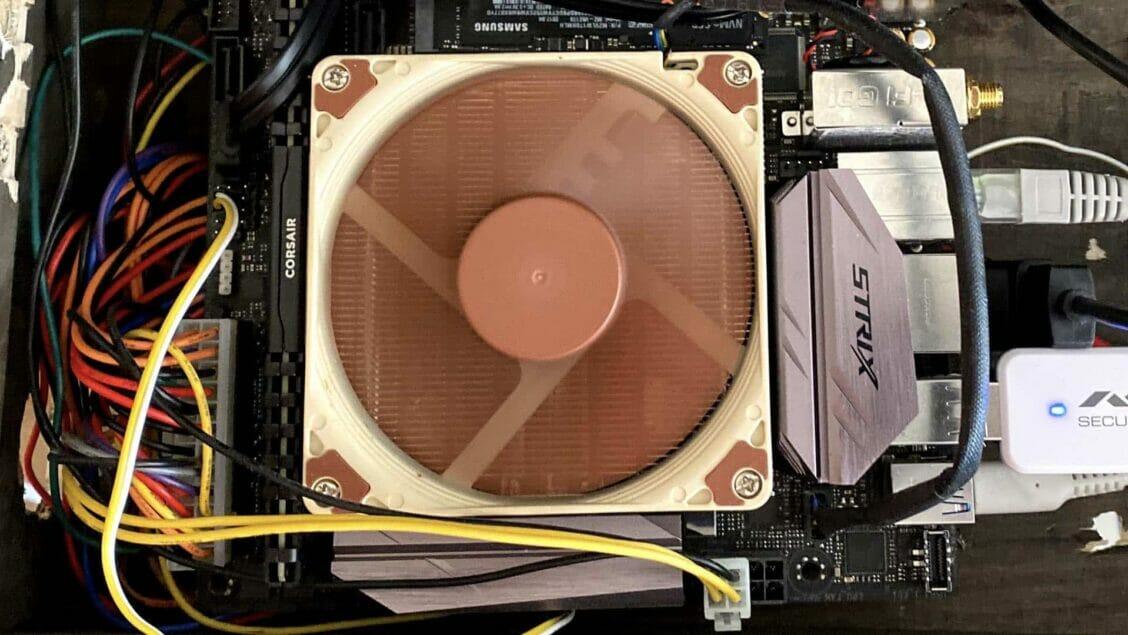 home build server running kubernetes docker