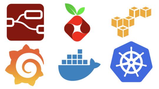 tech company logos docker kubernetes