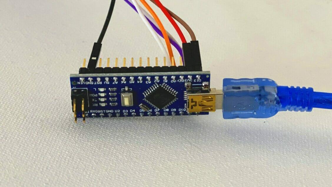 arduino nano sensor temperature readings