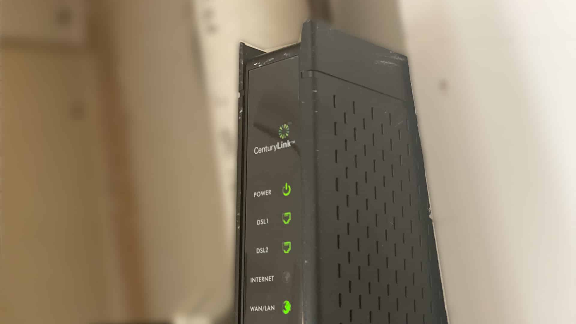 dsl modem/router combo from century link
