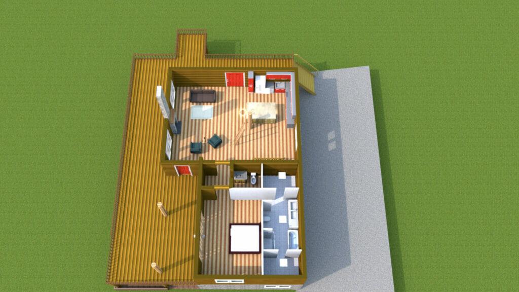 home automation ideas: a 3d floorplan