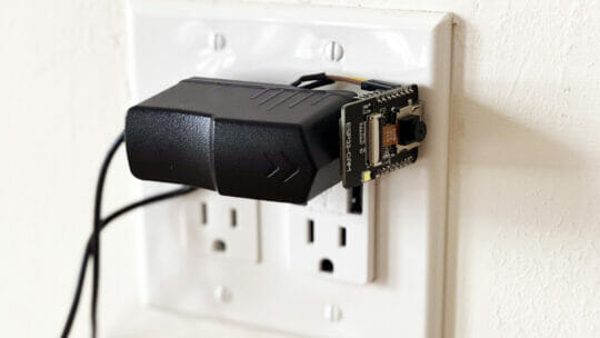 cheap hidden security cameras with the ESP32 CAM